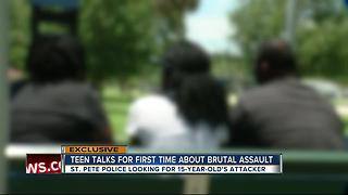 EXCLUSIVE: 15-year-old victim of assault speaks, refuses to let attack break her - Video