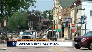 Sun Prairie neighbors visit destruction, businesses pick up pieces - Video