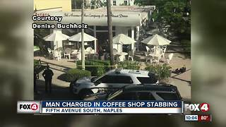 Police investigate stabbing in downtown Naples - Video
