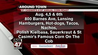 Around Town 8/2/17: St. Casimir's 41st Annual Corn Roast - Video
