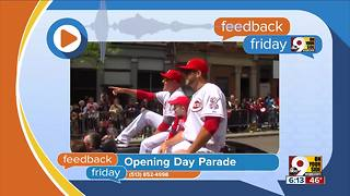 Feedback Friday: Reds Non-Opening Day Parade - Video