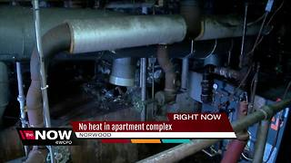 No heat in apartment complex - Video