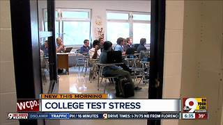 College prep can be stressful for high school students - Video