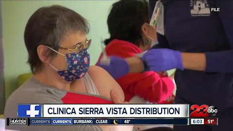 Clinica Sierra Vista expanding vaccine criteria, clinic will give COVID vaccine to everyone qualified