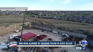 Erie mom concerned about benzene found in son's blood