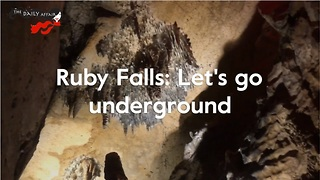 Ruby Falls: America's tallest underground waterfall - Video