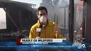 Deadly California Wildfires