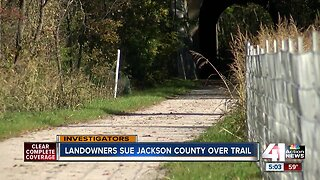 New lawsuit filed against Jackson County over hiking and biking trail
