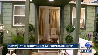 Design center at 'The Showroom at Furniture Row' can help with ideas for upgrading your home - Video