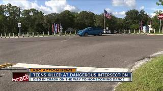 Teens killed in dangerous intersection