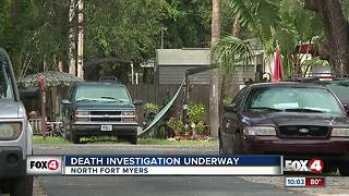 Death investigation underway at North Fort Myers mobile home - Video