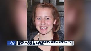 Study: Rise in social media linked to rise in teen suicides - Video