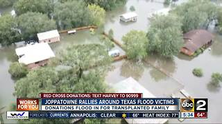 Joppatowne rallies around Texas flood victims - Video