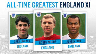 All-Time Greatest England XI - Video