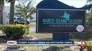 17-year-old student arrested for bringing gun onto school campus