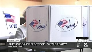 61% of eligible Palm Beach County voters have already cast ballot