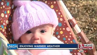 Warmer weather coming this weekend - Video