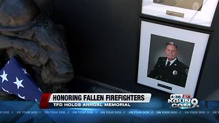 Tucson Fire honors fallen firefighters and their families - Video