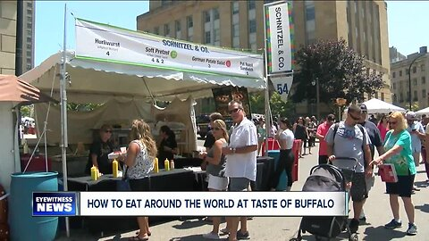 Dining around the world at the Taste of Buffalo