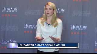 Elizabeth Smart says  #Metoo gives victims of sexual violence camaraderie - Video
