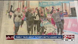 Family Talks About Fathers Battle Against ALS