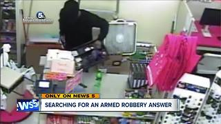 Search for answers in armed robberies
