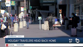 Sunday to be busiest holiday travel day