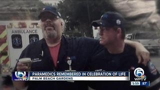 Paramedics remembered in celebration of life - Video