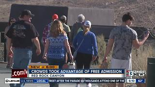 Admission price increasing at Red Rock Canyon - Video