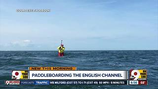 Paddleboarding the English Channel - Video