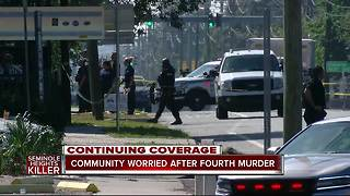 Seminole Heights Shooting: Church volunteer shot, killed is likely 4th homicide in Tampa killings - Video
