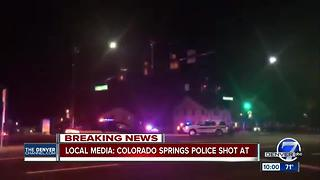 2 shot in 'active' police scene in Colorado Springs; emergency notifications warn of danger - Video