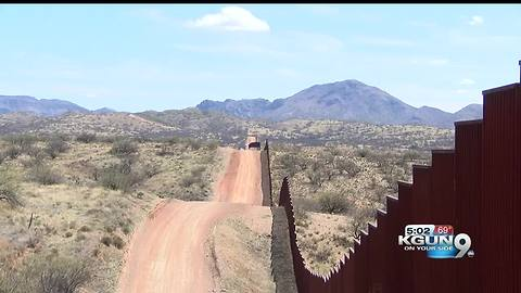 US Secretary of the Interior visits the Arizona border
