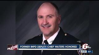 Former Indianapolis police Deputy Jim Waters Honored at Indiana Latino Expo - Video