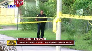 Tampa police investigate police involved shooting - Video