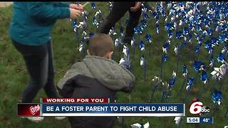 Be a foster parent to fight child abuse - Video