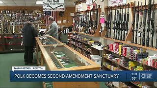 Polk County commissioners vote to become 'Second Amendment Sanctuary'