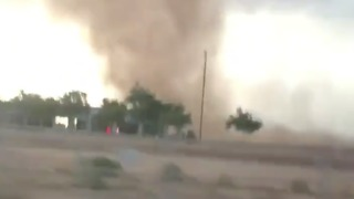 Dust Devil Spotted in Arizona Ahead of Severe Storms - Video