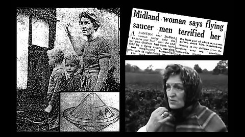 "Mrs.Jessie Roestenberger And Sons 1954 ""UFO"" Encounter, Staffordshire, U.K.- October 21, 1954"
