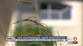 Teen Disappearance Under Investigation