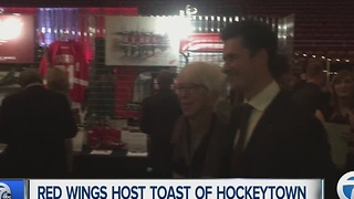 Red Wings host sold-out Toast of Hockeytown - Video