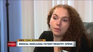 Medical marijuana patient registry opens - Video