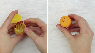 5 ways to upcycle Kinder Surprise's plastic container - Video