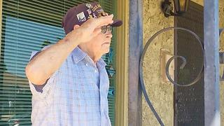 Pearl Harbor Veteran Honored On Own Front Porch - Video