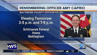 Road closures underway for fallen Baltimore County officer viewing - Video
