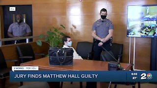 Jury finds Matthew Hall guilty in shooting of 2 Tulsa police officers