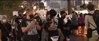 Black Lives Matter rally happens on Las Vegas Strip