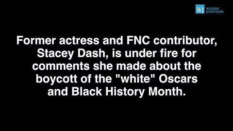 Libs Furious At Stacey Dash For Comments About White Oscars And Black History Month