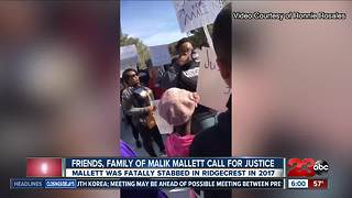 Friends, family of Malik Mallett call for justice - Video
