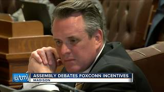 Wisconsin lawmakers debate Foxconn bill - Video